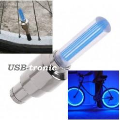 Ярко синяя подсветка для велосипеда цвет синий 2 шт