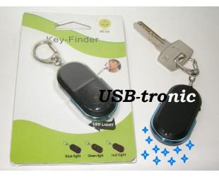 Брелок свисток для поиска ключей с синей подсветкой Цена 149 рублей