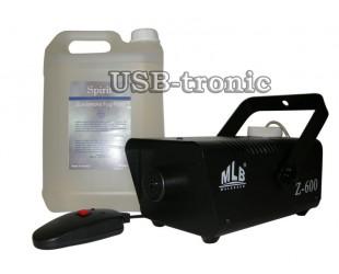 Дым-машина MLB Z-600 с жидкостью