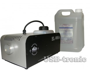 Дым-машина  EL-900 DMX с жидкостью