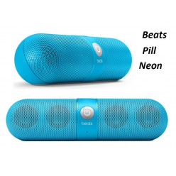 Портативная колонка Beats Pill Bluetooth неон
