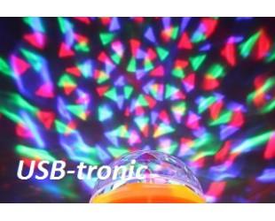 Led лампочка цветомузыка для домашней дискотеки