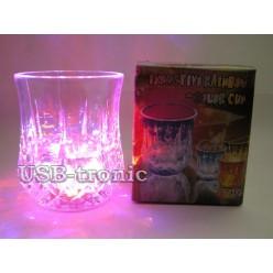 """Светящийся стакан """"Gran"""" с цветной подсветкой"""
