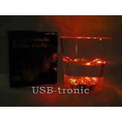 Светящийся стакан для праздничного виски