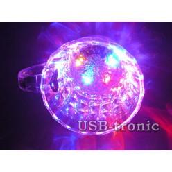Светящаяся кружка с цветной подсветкой