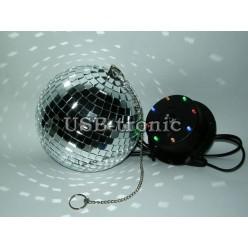 Зеркальный шар (дискошар) 15 см.
