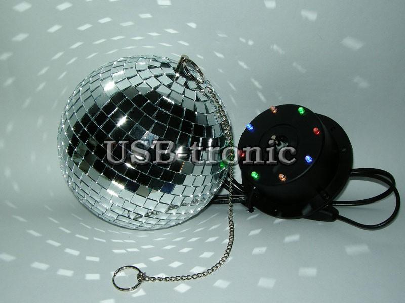 Зеркальный диско шар сделать