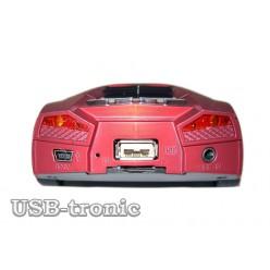 USB музыкальная колонка с флешкой «Ламборджини»