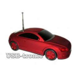 """Магнитола USB, MP3 плеер  """"AUDI""""  A6 красная"""