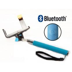 Штатив для селфи с Bluetooth - голубой