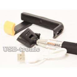 Монопод  для селфи с Bluetooth - черный НЕТ В НАЛИЧИИ