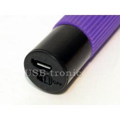 Монопод  для селфи с Bluetooth - фиолетовый