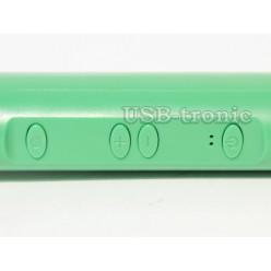 Палка для селфи с Bluetooth и Zoom - салатовая