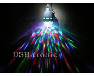 Подвесная светодиодная диско-лампа