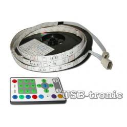 Лента LED с пультом 6 цветов 8 мм