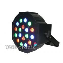 Стробоскоп цветной программируемый 18 LED. AB-29