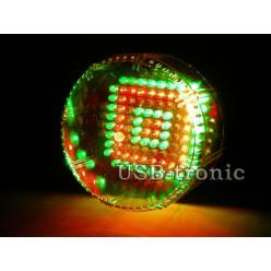 Стробоскоп LED цветной 25