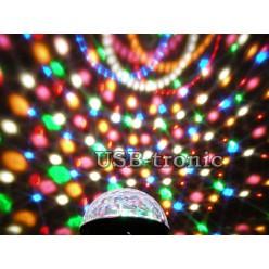 """Цветомузыка диско шар """"Сфера"""" (база) с микрофоном"""