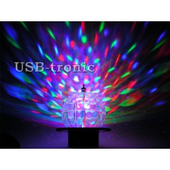 Цветной мини светодиодный диско шар НЕТ В НАЛИЧИИ