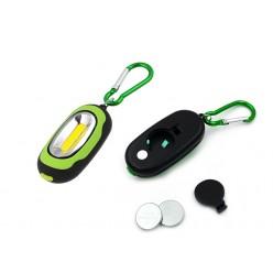 Мини светодиодный фонарик-брелок