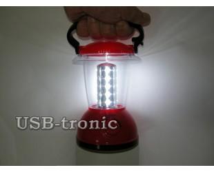 Кемпинговый светодиодный фонарь на аккумуляторе Kawachi KS-785 20 led