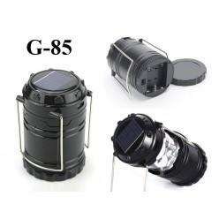 Кемпинговый складной фонарь на солнечной батарее G-85 13х9 см
