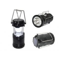 Кемпинговый светодиодный фонарь на аккумуляторе SL-5800T 13х9 см Черный корпус