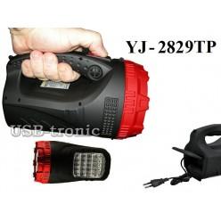 Ручной аккумуляторный фонарь прожектор YJ-2829TP