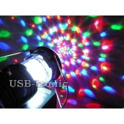 Кемпинговый фонарь Magic Cool SH-5801 Color Led Складной корпус 18х9 см