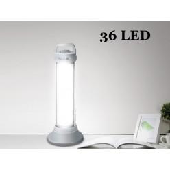 Кемпинговый  фонарь DP-7122 Аккумуляторный 36 светодиодов