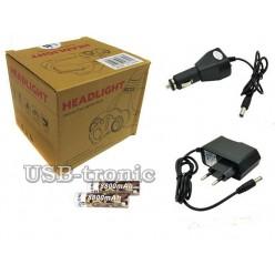 Налобный аккумуляторный фонарь BL-C862 / YT-1600