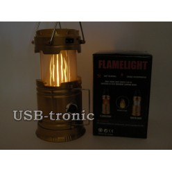 """Кемпинговый складной фонарь CL-H58 Flamelight """"Свет пламени"""""""