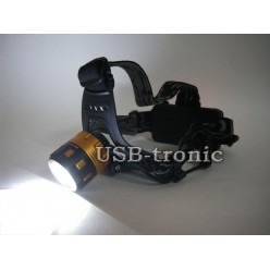 Фонарь налобный аккумуляторный MX-2122-T6 с зумом (zoom)