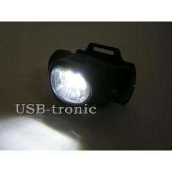 Фонарь налобный  светодиодный 603 6 светодиодов AAA