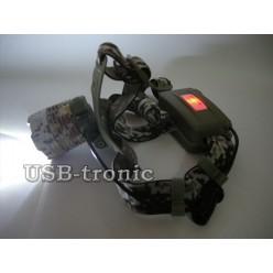 Фонарь налобный для рыбалки MX-49-T6 с аккумуляторами 18650