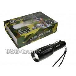 Универсальный ручной фонарь MX-527-1-T6 с креплением для велосипеда