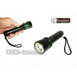 Ручной аккумуляторный фонарь MX-8119-T6 COB