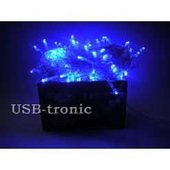 Гирлянда светодиодная N 100 LED - Синий свет