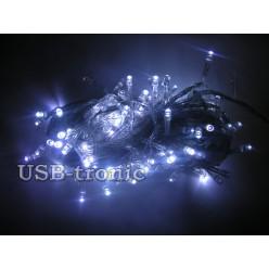 Гирлянда светодиодная W 100 LED Белый свет