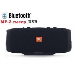 Колонка JBL Charge 3 с USB (черная)