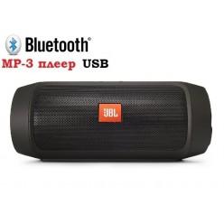 Колонка JBL Charge 2 Plus + mp3 плеер (черная)