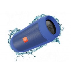 Колонка JBL Charge 2 Plus + mp3 плеер  (синяя)