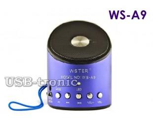 Мини FM радиоприемник Wster A9 с MP3 плеером