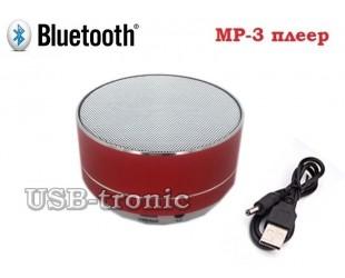 Вluetooth колонка с USB красная