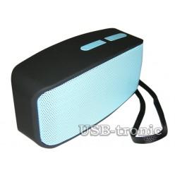 Мини колонка Bluetooth N10 с mp3 Синяя