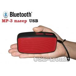 Мини колонка Bluetooth N10 с mp3 RED