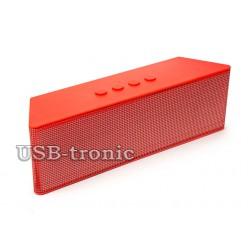 Bluetooth колонка Цветомузыка RED