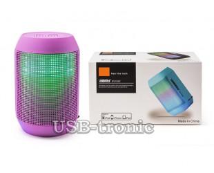 Цветомузыкальная мини акустика AIBIMI MY 500 с USB и TF