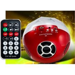 Колонка Bluetooth c USB Цветомузыка Q8 Red