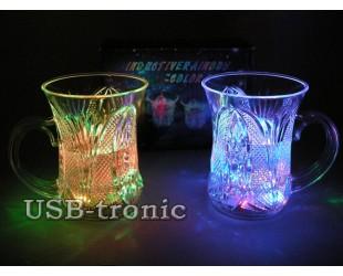 Набор Праздничный Светящиеся кружки с цветной подсветкой